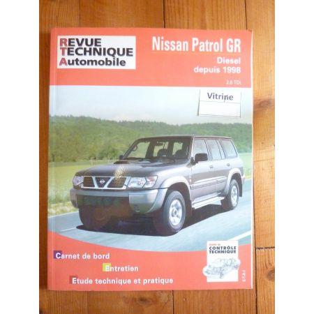 Patrol GR Y61 98- Revue Technique Nissan