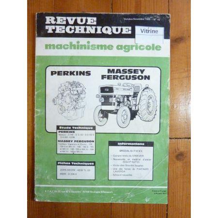 135 168 MKIII Revue Technique Agricole Massey Ferguson