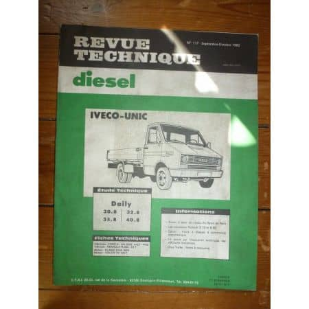 Daily I Revue Technique Iveco