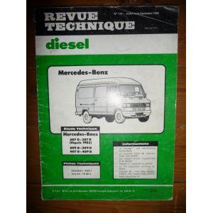 207 307 209 309 407 409 Revue Technique Mercedes