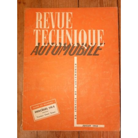 170S Tracteurs Brown Revue Technique Agricole David Brown Mercedes