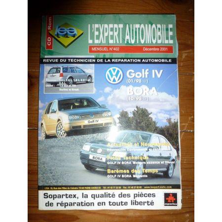 Golf IV Bora Revue Technique Volkswagen
