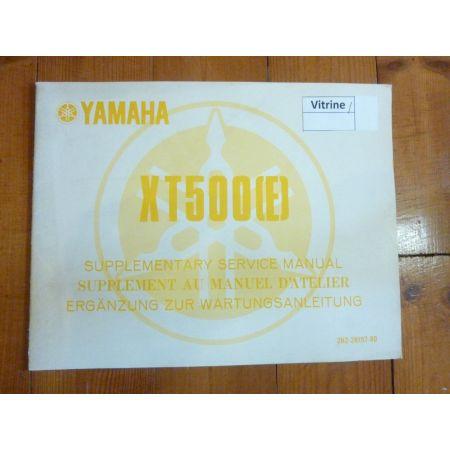 XT500 E Manuel YAMAHA