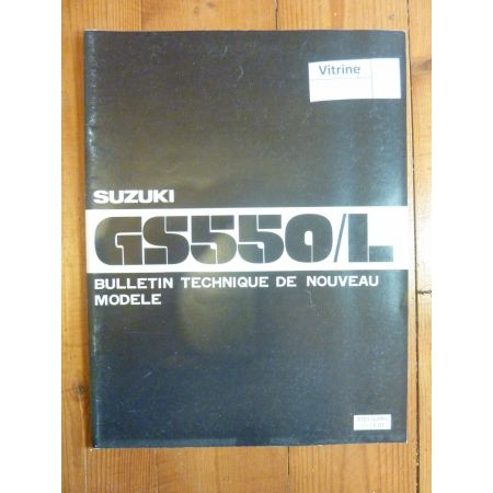 GS650 L Bulletin tech SUZUKI