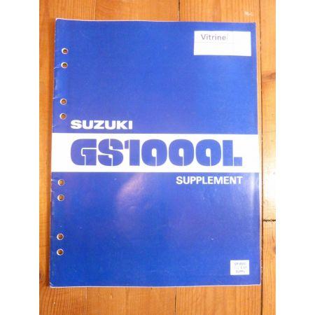 GS1000 L Manuel SUZUKI