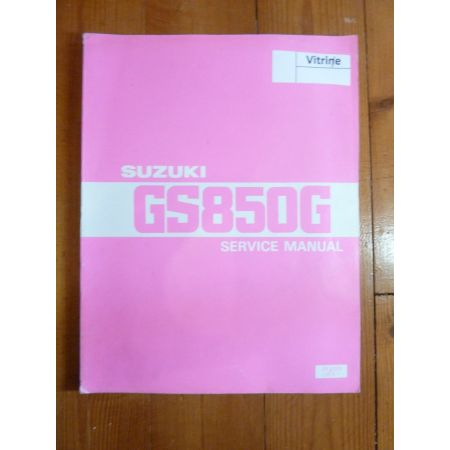 GS850 G Manuel SUZUKI
