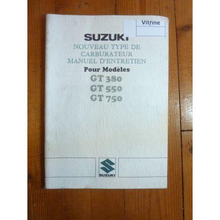GT 380 550 750 Manuel SUZUKI
