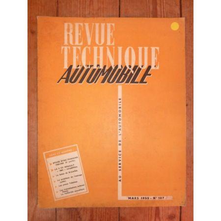 Dyna 54-55 (2) Revue Technique Panhard
