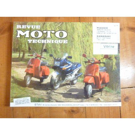 TOMCAT PX125 Revue Technique moto Kawasaki Piaggio Vespa
