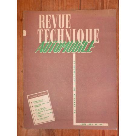 RTA0110 Revue technique BUICK V8 de 1953 à 1955