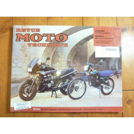 CBX750 TS50 Revue Technique moto Honda Suzuki