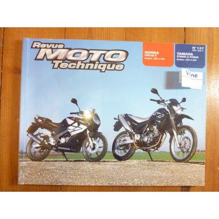 CBR125R XT660 Revue Technique moto Honda Yamaha