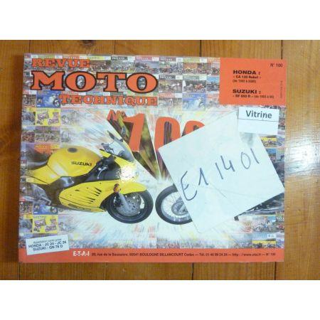Rebel RF600R Revue Technique moto Honda Suzuki