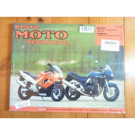 1200 Bandit YZF600R Revue Technique moto Suzuki Yamaha