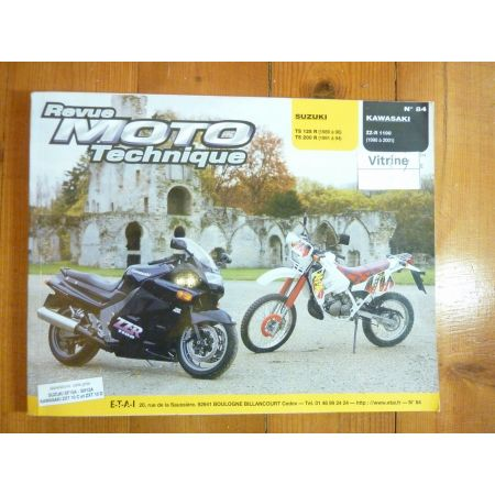 ZZR1100 TS125 Revue Technique moto Kawasaki Suzuki
