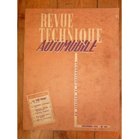 Dyna 56-57 Revue Technique Panhard
