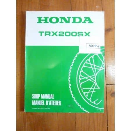 TRX200 SX Manuel Honda