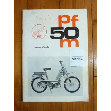 PF50M Manuel Honda