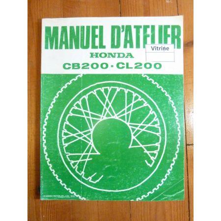 CB200 - CL200 Manuel Honda