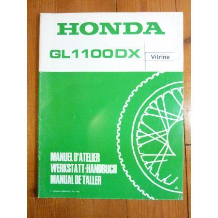 GL1100DX Manuel Honda