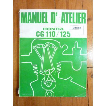 CG 110-125 Manuel Honda