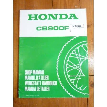 CB900 F Manuel Honda