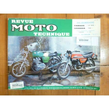 125RDX 1000 Revue Technique moto Laverda Yamaha