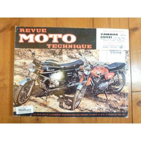 RS125 Le Mans California 3 Revue Technique moto Guzzi Yamaha