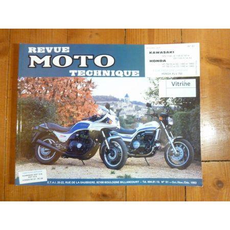 GPZ1100 VF750 Revue Technique moto Honda Kawasaki