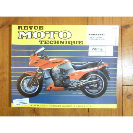 900 NINJA Revue Technique moto Kawasaki