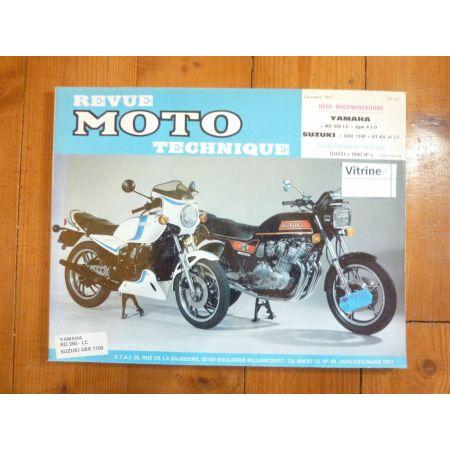 350RDLC GSX1100 Revue Technique moto Suzuki Yamaha