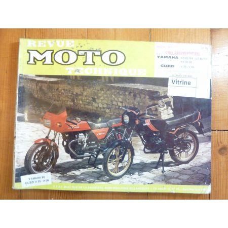 RD80 DT80 V35 V50 Revue Technique moto Guzzi Yamaha