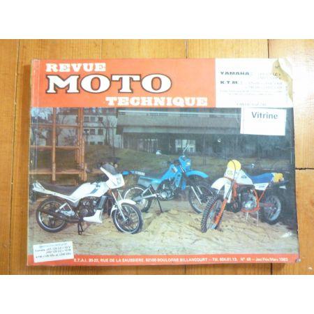 125 240GS 125DT RD Revue Technique moto Ktm Yamaha