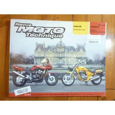 VT125 FZS600Fazer Revue Technique moto Daelim Yamaha