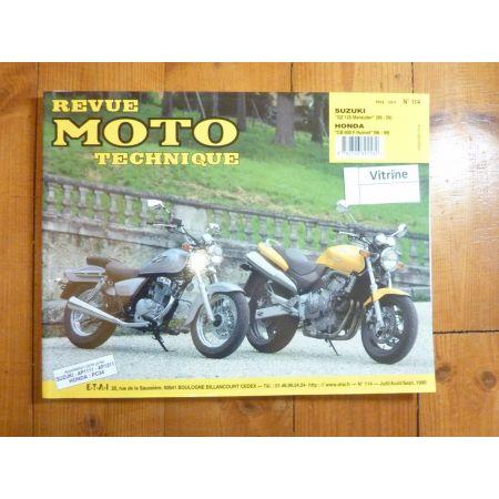 CB600F GZ125 Marauder Revue Technique moto Honda Suzuki