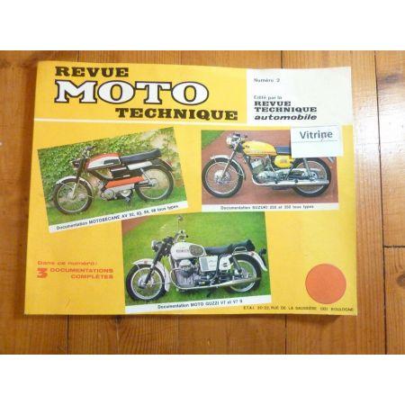 Av 250 350 V7 Revue Technique moto Guzzi Motobecane Suzuki