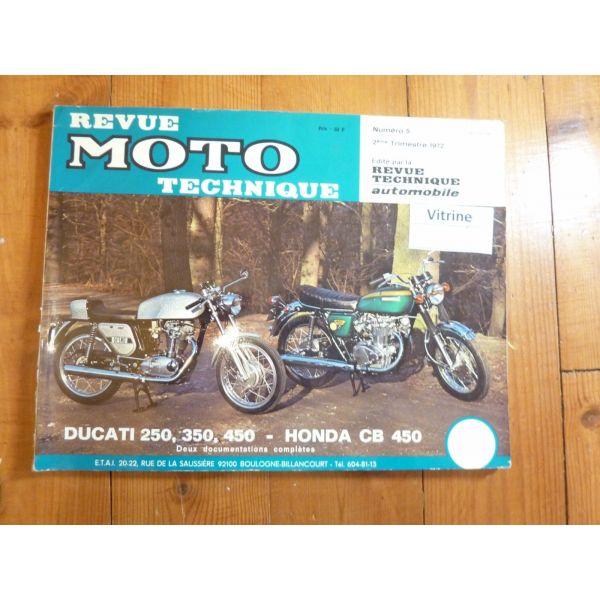 250 450 Revue Technique moto Ducati Honda