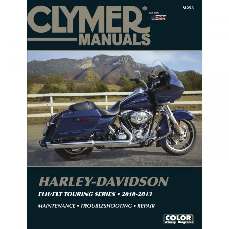 FLH/FLT Touring Series 10-13 Revue technique Clymer HARLEY Anglais