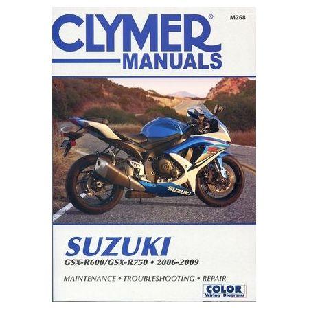 GSXR 600 750 06-09 Revue technique Clymer SUZUKI Anglais
