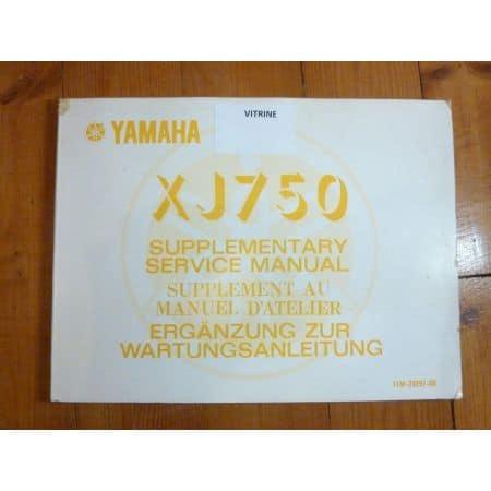 XJ750 Manuel YAMAHA