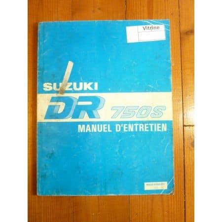 DR750 S Manuel SUZUKI