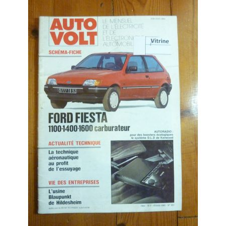 Fiesta carbu Revue Technique Electronic Auto Volt Ford