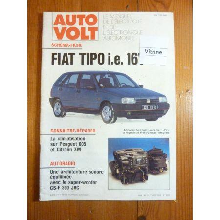 Tipo ie 16v Revue Technique Electronic Auto Volt Fiat