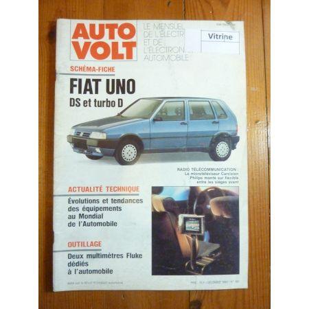 Uno DS TurboD Revue Technique Electronic Auto Volt Fiat