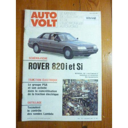 820 I-SI Revue Technique Electronic Auto Volt Rover