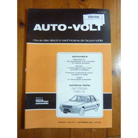 Croma Turbo ie Revue Technique Electronic Auto Volt Fiat