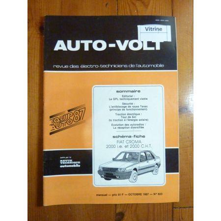 Croma 2000 Revue Technique Electronic Auto Volt Fiat