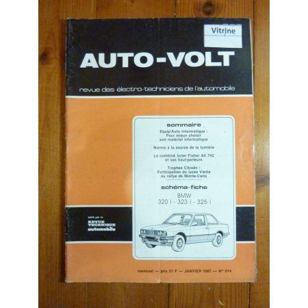 320i 323i-325i Revue Technique Electronic Auto Volt Bmw