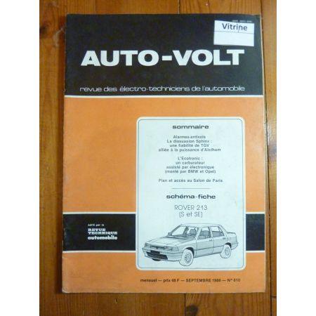 213 S-SE Revue Technique Electronic Auto Volt Rover