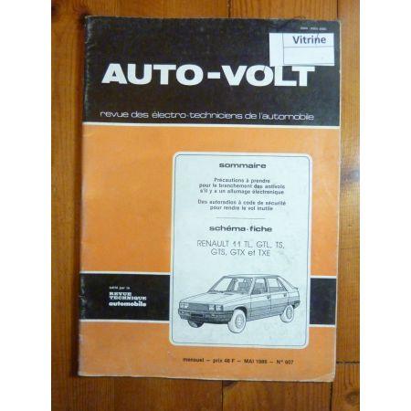 R11 Revue Technique Electronic Auto Volt Renault